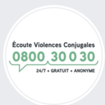 Ecoute Violences Conjugales 0800/30.030  -  Centre pluridisciplinaire