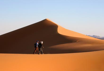 Le désert selon Fred