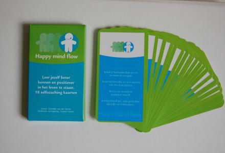 Maak je gedachten weer positief met de Happy Mind Flow® kaarten