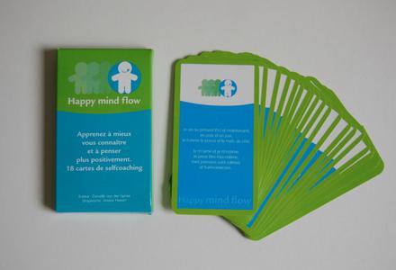 Devenez pleinement conscient de votre vie et changez vos pensées positivement avec les cartes selfcoaching Happy Mind Flow®