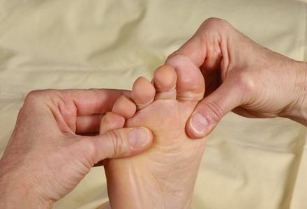 Le massage thaï des pieds
