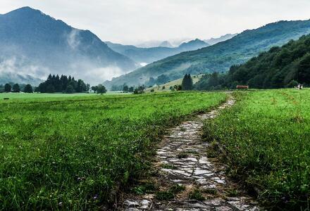 Marcher en extérieur pour soigner son intériorité
