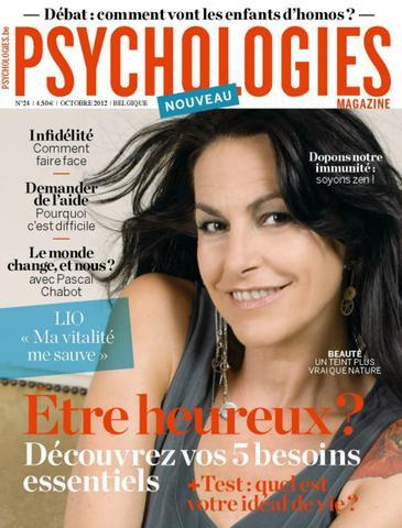 Psychologies Magazine Belgique