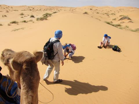Le témoignage de Véronique après son stage dans le désert