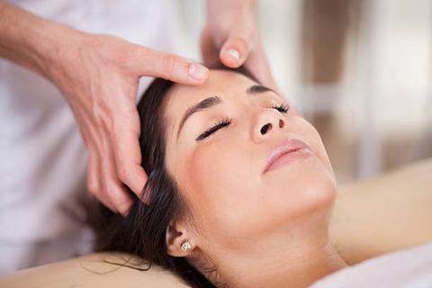 Le massage crânien