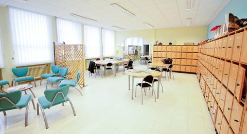 La salle des profs...