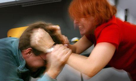 La violence faite aux hommes