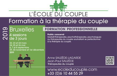 Formation à la thérapie du couple