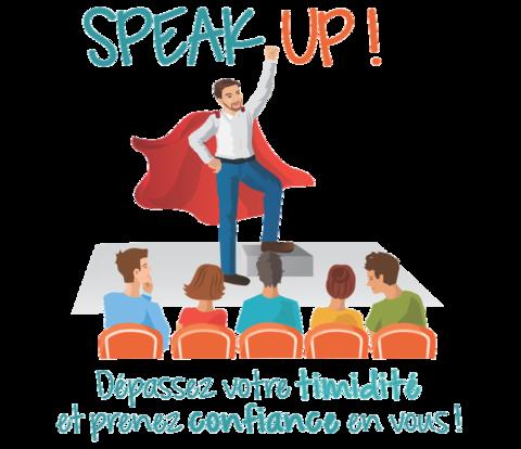 Dépassez votre timidité grâce à l'impro : ateliers Speak Up !